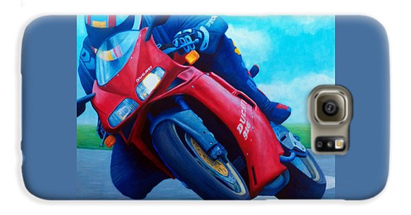Ducati 916 Galaxy S6 Case by Brian  Commerford