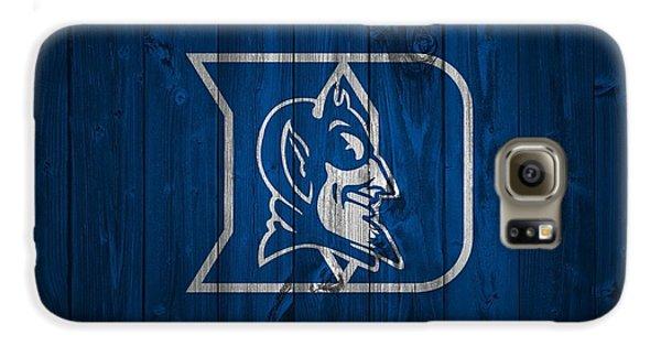 Duke Blue Devils Barn Door Galaxy S6 Case by Dan Sproul