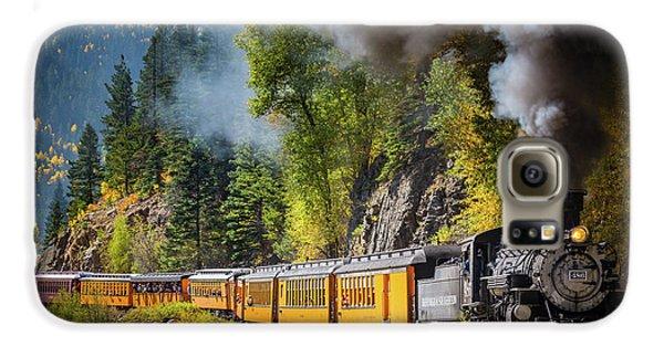 Durango-silverton Narrow Gauge Railroad Galaxy S6 Case by Inge Johnsson
