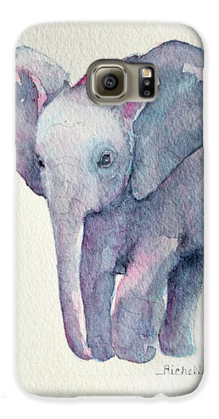 E Is For Elephant Galaxy S6 Case by Richelle Siska