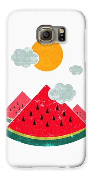 Eatventure Time Galaxy S6 Case by Mustafa Akgul