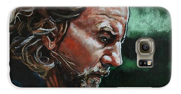 Eddie Vedder Galaxy S6 Case by Joel Tesch