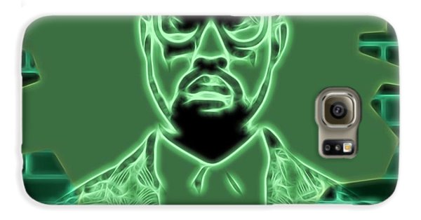 Electric Kanye West Graphic Galaxy S6 Case by Dan Sproul