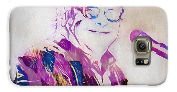 Elton John Galaxy S6 Case by Dan Sproul