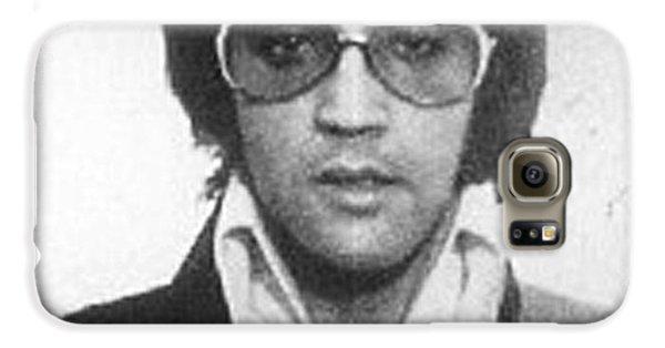 Elvis Presley Mug Shot Vertical Galaxy S6 Case by Tony Rubino