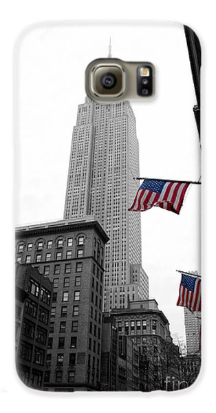 Empire State Building In The Mist Galaxy S6 Case by John Farnan