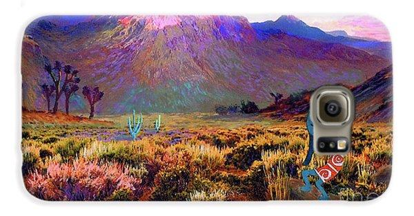 Enchanted Kokopelli Dawn Galaxy S6 Case by Jane Small