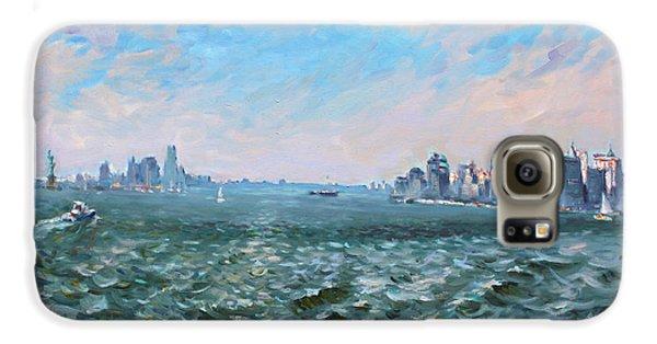 Entering In New York Harbor Galaxy S6 Case by Ylli Haruni