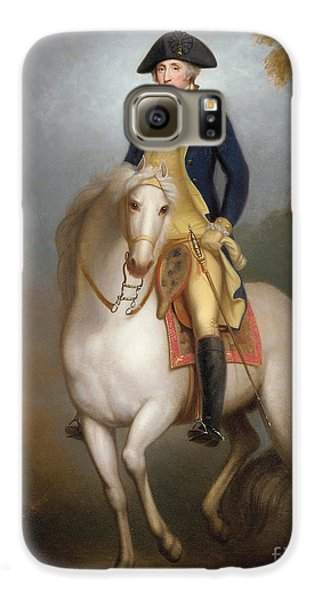 Equestrian Portrait Of George Washington Galaxy S6 Case by Rembrandt Peale
