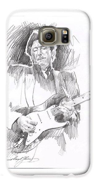 Eric Clapton Blackie Galaxy S6 Case by David Lloyd Glover