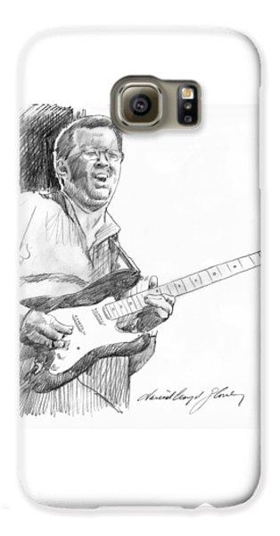 Eric Clapton Jam Galaxy S6 Case by David Lloyd Glover