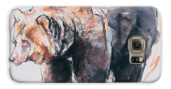 European Brown Bear Galaxy S6 Case by Mark Adlington