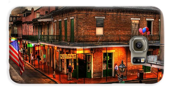 Evening On Bourbon Galaxy S6 Case by Greg and Chrystal Mimbs