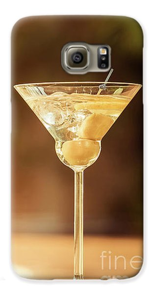 Evening With Martini Galaxy S6 Case by Ekaterina Molchanova