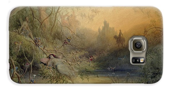 Fairy Land Galaxy S6 Case by Gustave Dore