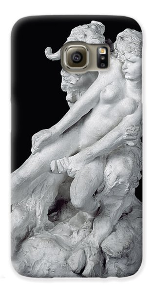 Faun And Nymph Galaxy S6 Case by Auguste Rodin