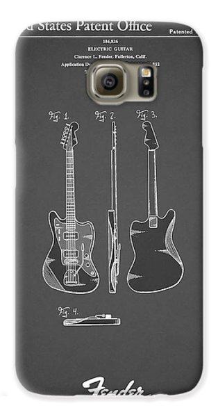 Fender Electric Guitar 1959 Galaxy S6 Case by Mark Rogan