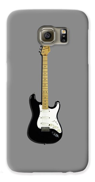 Fender Stratocaster Blackie 77 Galaxy S6 Case by Mark Rogan