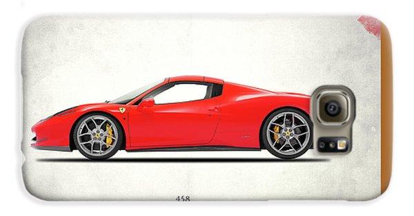 Ferrari 458 Italia Galaxy S6 Case by Mark Rogan