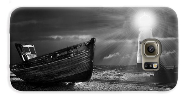 Fishing Boat Graveyard 7 Galaxy S6 Case by Meirion Matthias
