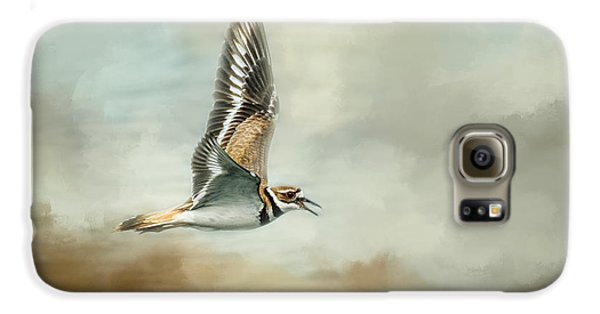Flight Of The Killdeer Galaxy S6 Case by Jai Johnson