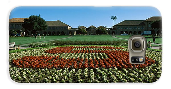 Formal Garden At The University Campus Galaxy S6 Case by Panoramic Images