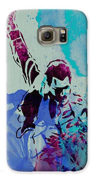 Freddie Mercury Galaxy S6 Case by Naxart Studio