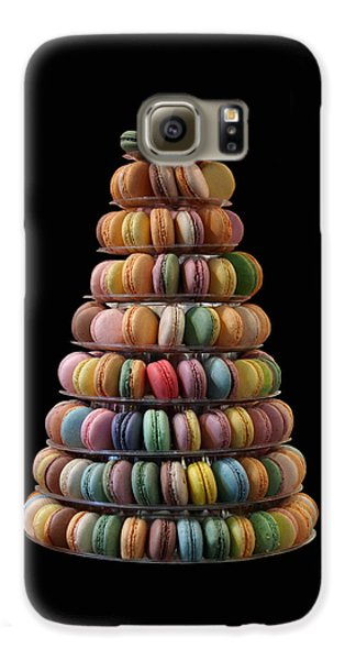 French Macarons Galaxy S6 Case by Rona Black