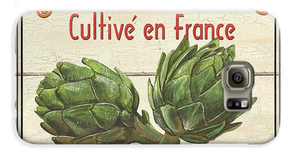 French Vegetable Sign 2 Galaxy S6 Case by Debbie DeWitt