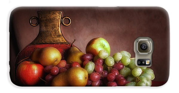Fruit With Vase Galaxy S6 Case by Tom Mc Nemar