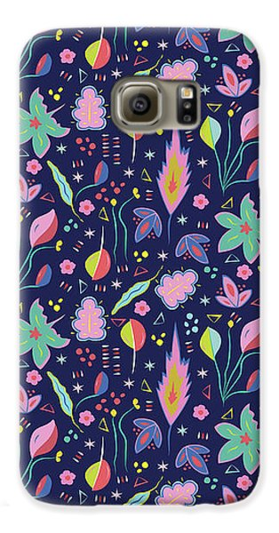 Fun In The Garden Galaxy S6 Case by Elizabeth Tuck