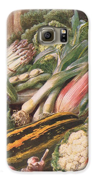 Garden Vegetables Galaxy S6 Case by Louis Fairfax Muckley