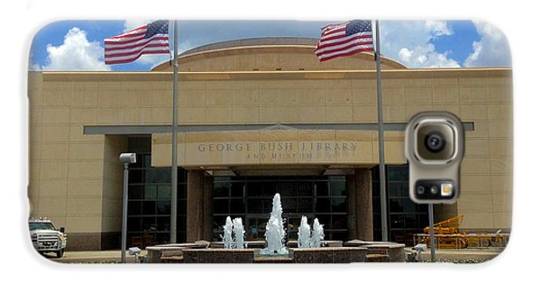 George Bush Library And Museum Galaxy S6 Case by Art Spectrum