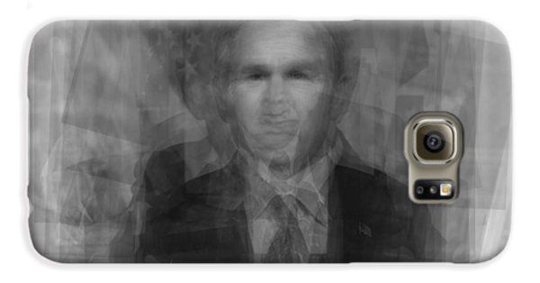 George W. Bush Galaxy S6 Case by Steve Socha