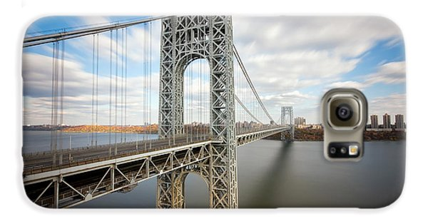 George Washington Bridge Galaxy S6 Case by Greg Gard