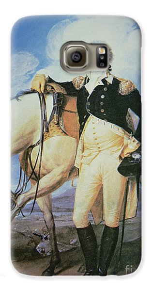 George Washington Galaxy S6 Case by John Trumbull