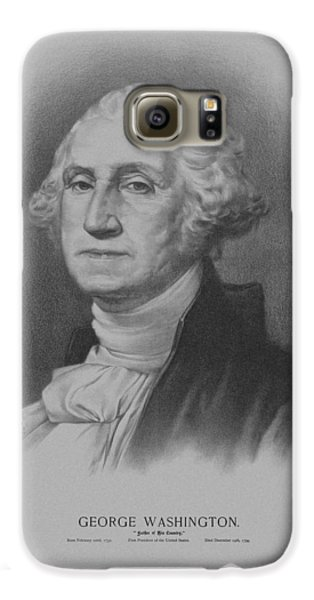 George Washington Galaxy S6 Case by War Is Hell Store