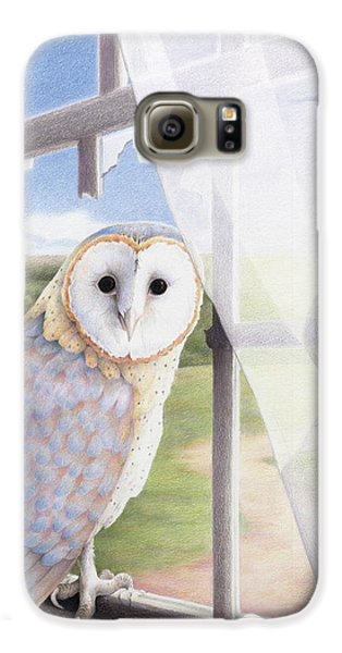 Ghost In The Attic Galaxy S6 Case by Amy S Turner