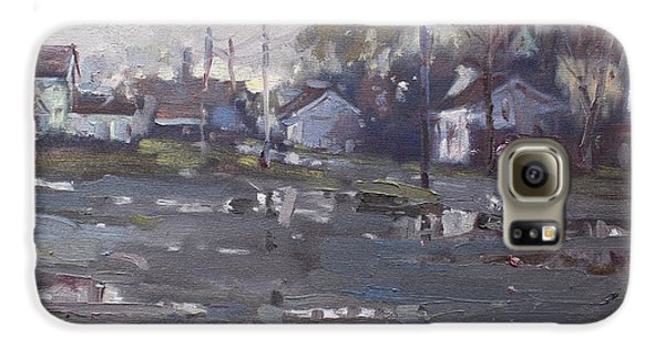 Gloomy And Rainy Day By Hyde Park Galaxy S6 Case by Ylli Haruni