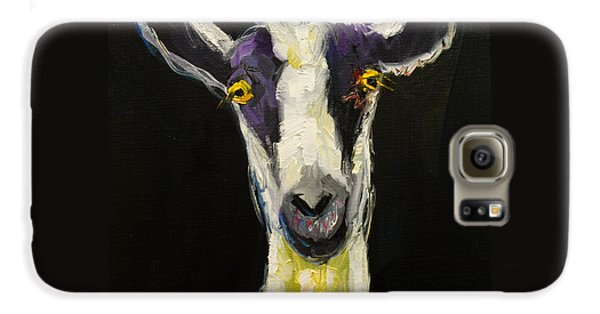 Goat Gloat Galaxy S6 Case by Diane Whitehead