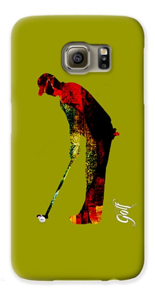 Golf Collection Galaxy S6 Case by Marvin Blaine