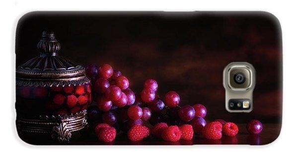 Grape Raspberry Galaxy S6 Case by Tom Mc Nemar