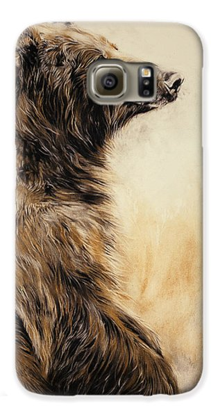 Grizzly Bear 2 Galaxy S6 Case by Odile Kidd