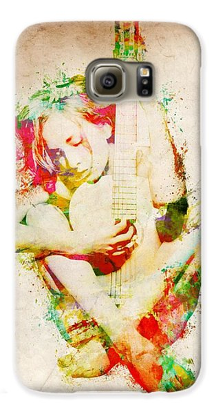 Guitar Lovers Embrace Galaxy S6 Case by Nikki Smith