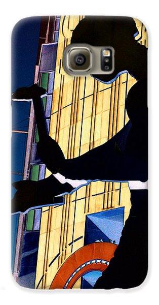 Hammering Man Galaxy S6 Case by Tim Allen