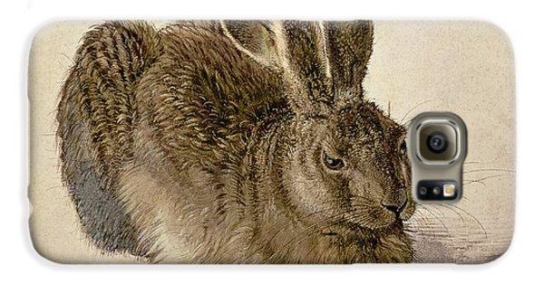 Hare Galaxy S6 Case by Albrecht Durer