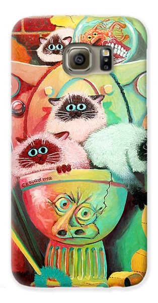Head Cleaners Galaxy S6 Case by Baron Dixon