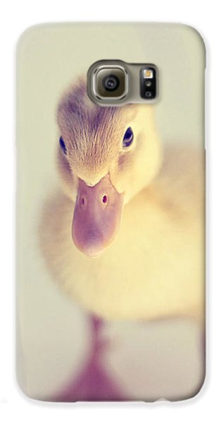 Hello Ducky Galaxy S6 Case by Amy Tyler