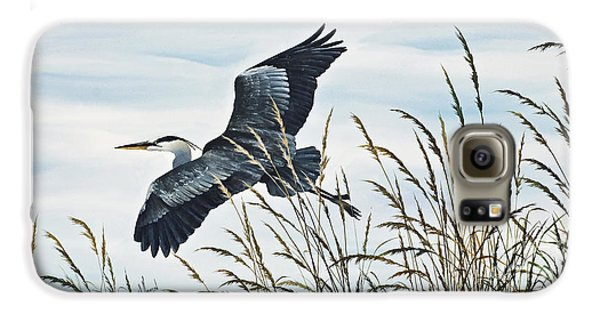 Herons Flight Galaxy S6 Case by James Williamson