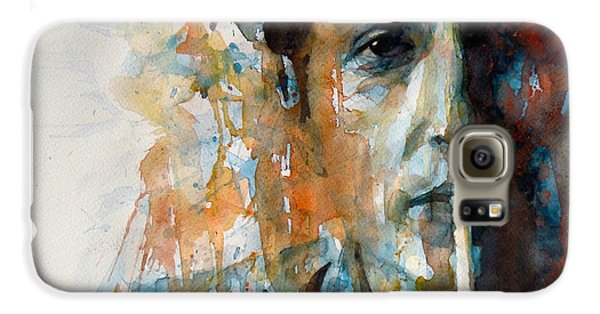 Hey Mr Tambourine Man @ Full Composition Galaxy S6 Case by Paul Lovering